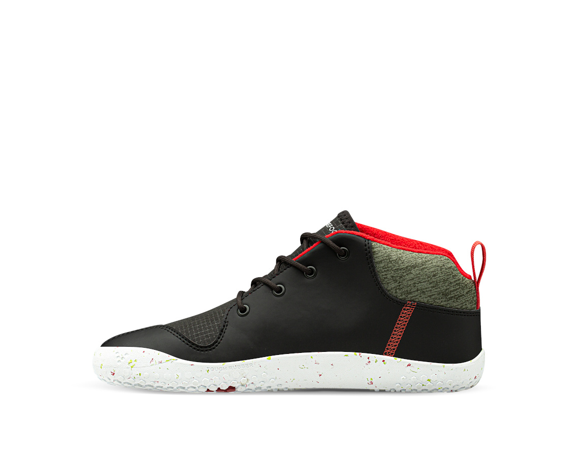 Vivobarefoot PRIMUS BOOTIE ALL WEATHER JNR OBSIDIAN ()