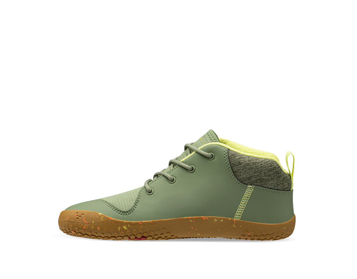 Vivobarefoot PRIMUS BOOTIE ALL WEATHER JNR SEAWEED ()