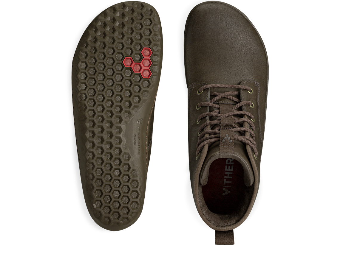 Vivobarefoot SCOTT 2.0 LEATHER MENS CHESTNUT ()