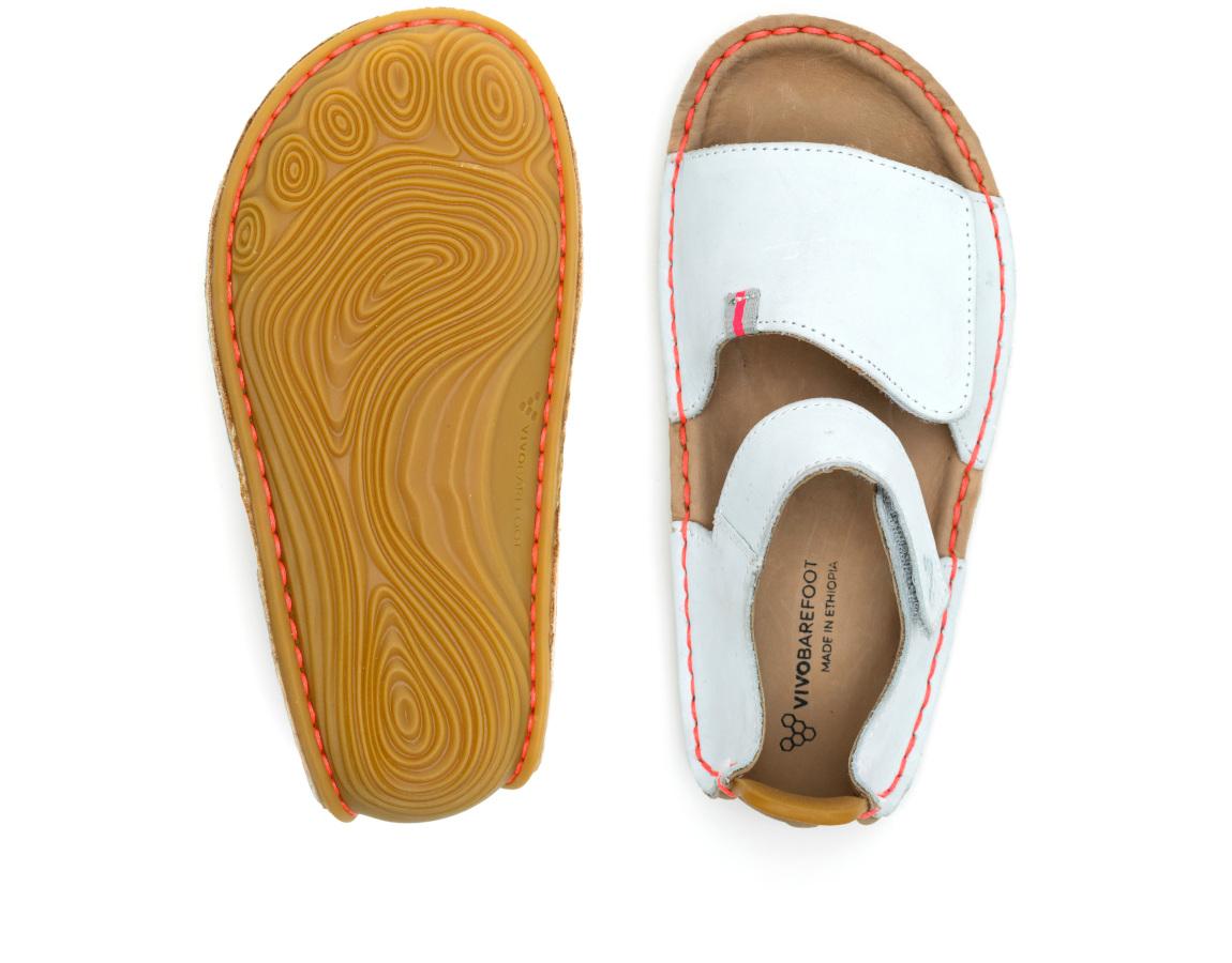 Vivobarefoot ABABA SANDAL KIDS GREY MIST ()
