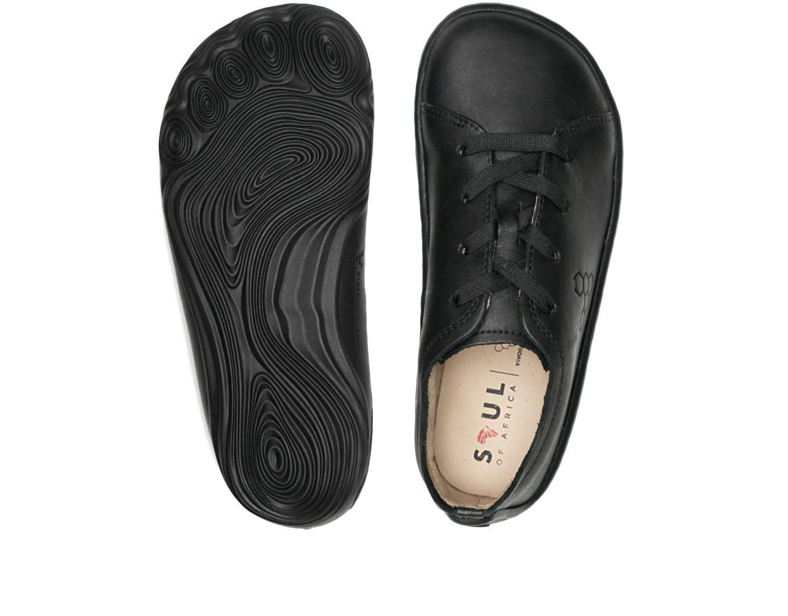 Vivobarefoot ADDIS SCHOOL KIDS BLACK ()