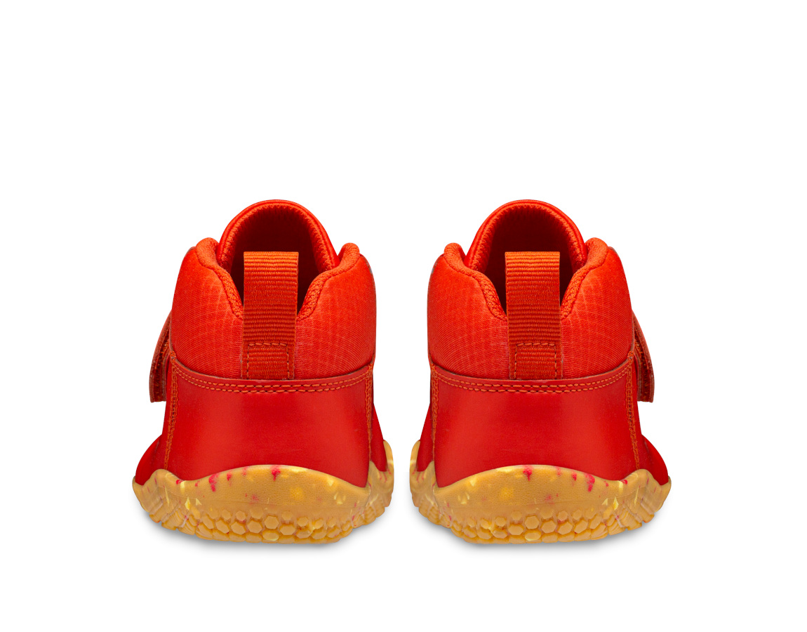 Vivobarefoot PRIMUS BOOTIE II ALL WEATHER KIDS FIERY CORAL ()