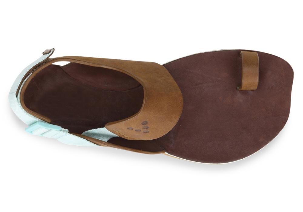 Vivobarefoot  KOLHAPURI L Leather Chestnut/Hide ()