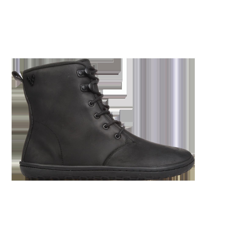 Vivobarefoot  GOBI HI TOP L Leather Black ()