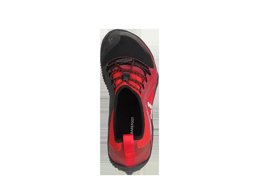 Vivobarefoot  PRIMUS TRAIL SG M Mesh Black/Red ()