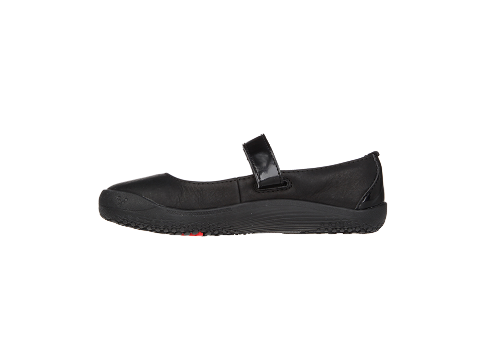 Vivobarefoot  WILLOW K Leather Black ()