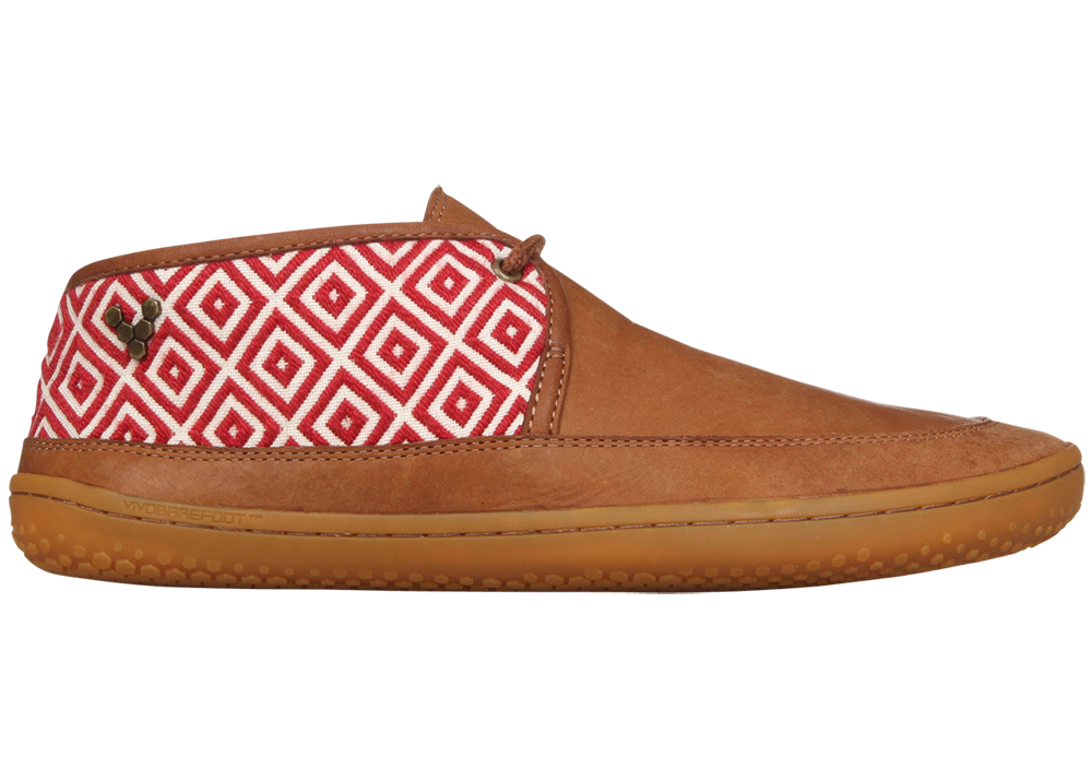 Vivobarefoot  GIA L Leather Chestnut/Hide ()