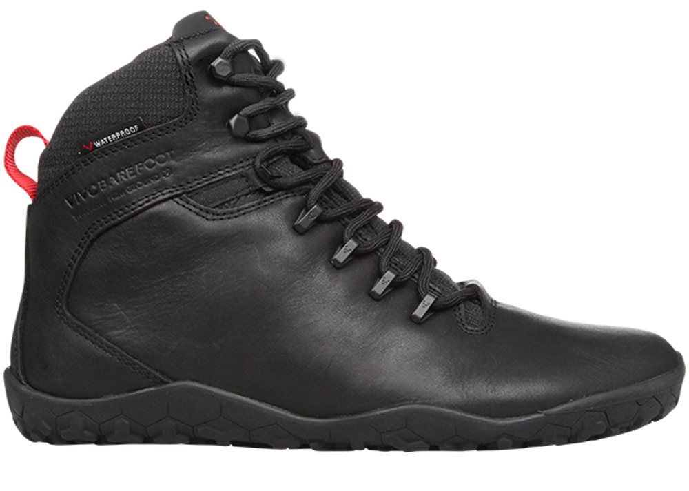 Vivobarefoot  TRACKER FG L Leather Black