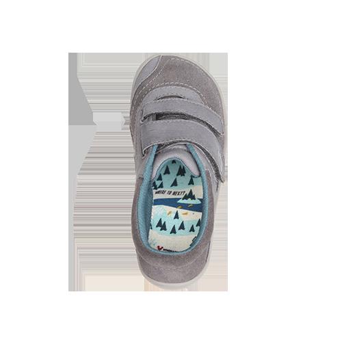 Vivobarefoot  RENO K Leather Grey ()
