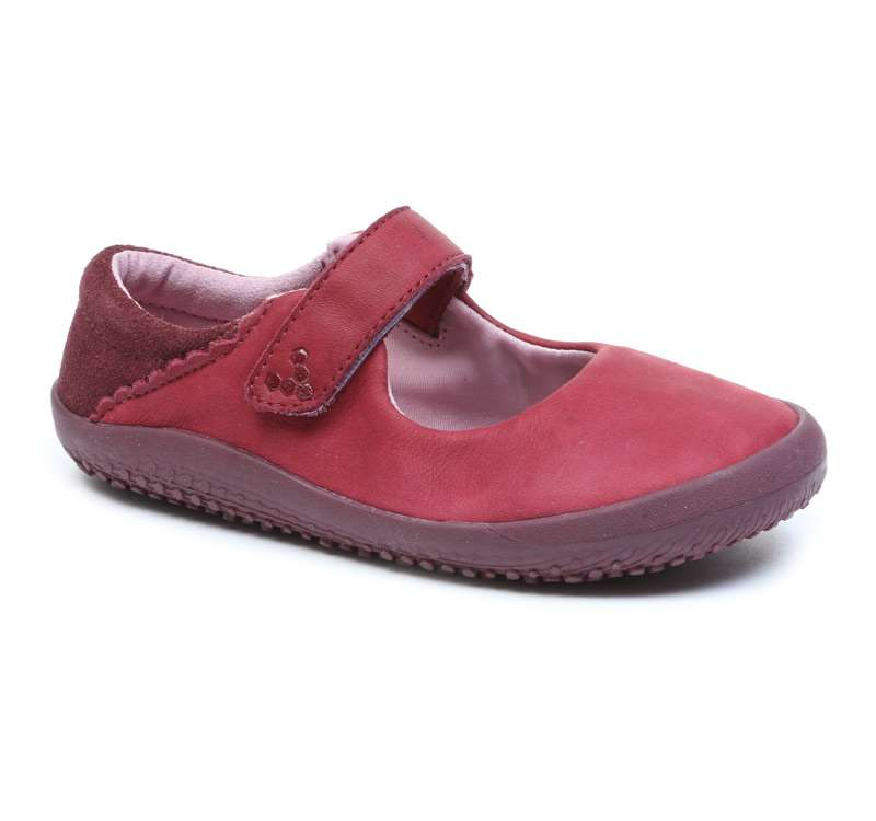 Vivobarefoot  WYN K Leather Burgundy ()