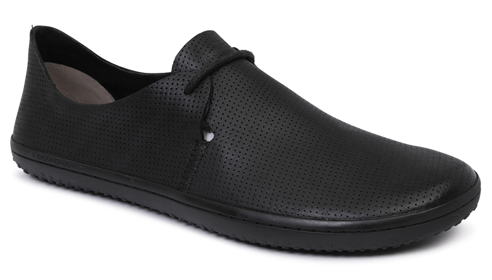 Vivobarefoot RIF L Leather Black/Hide ()