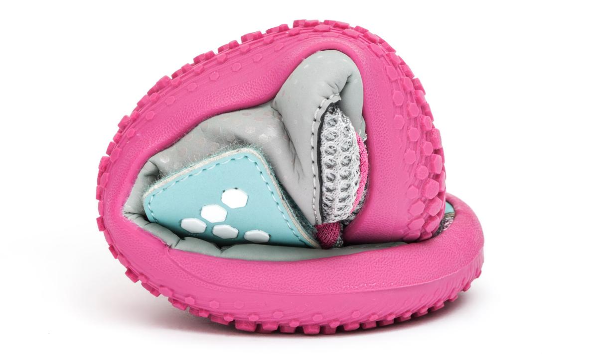 Vivobarefoot MINI PRIMUS K Grey/Pink ()