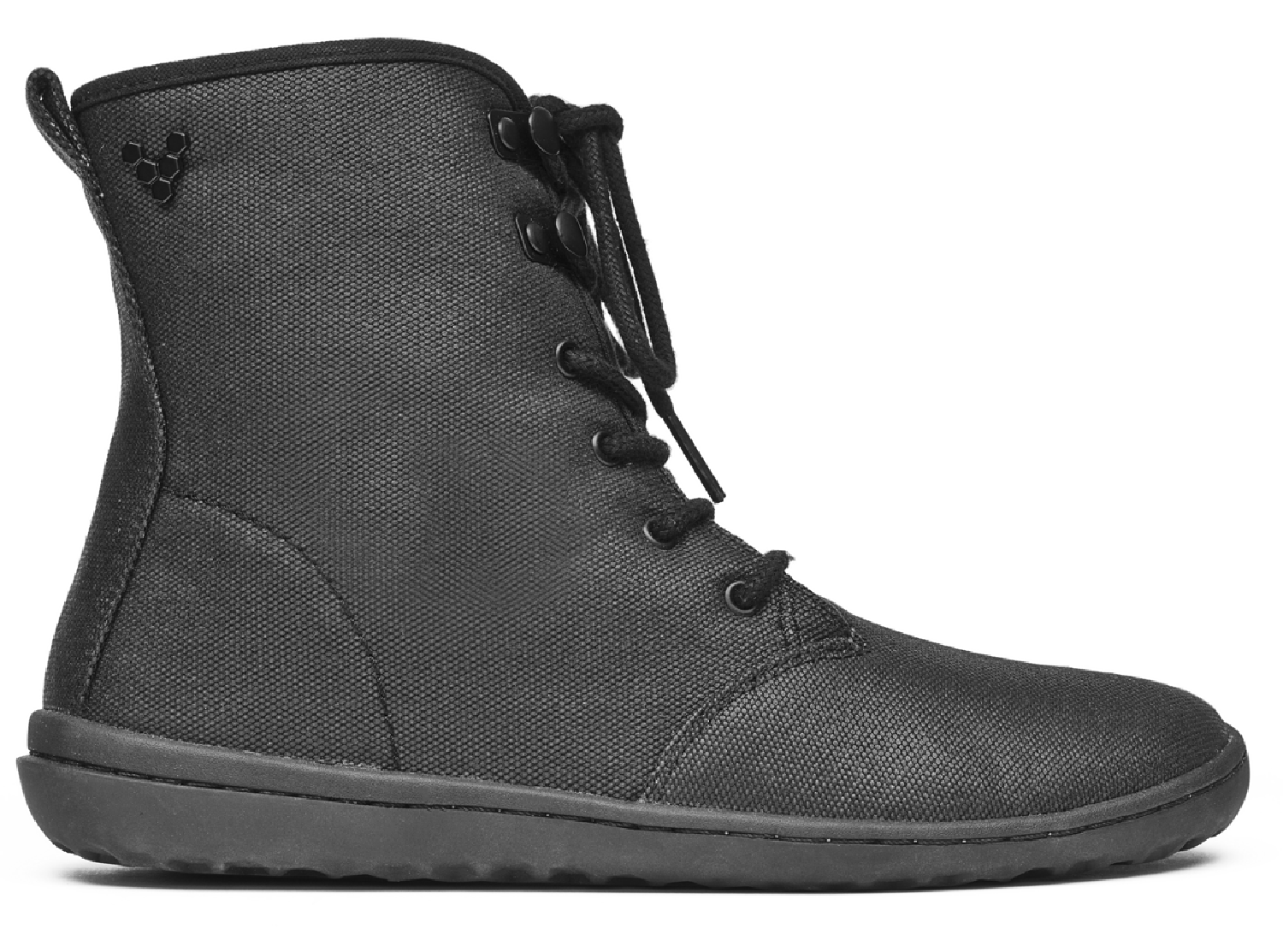 Vivobarefoot GOBI HI TOP L Eco Canvas Black ()