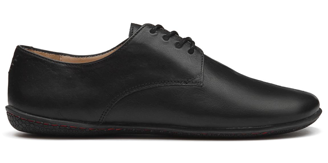 Vivobarefoot LISBON M Leather All Black ()