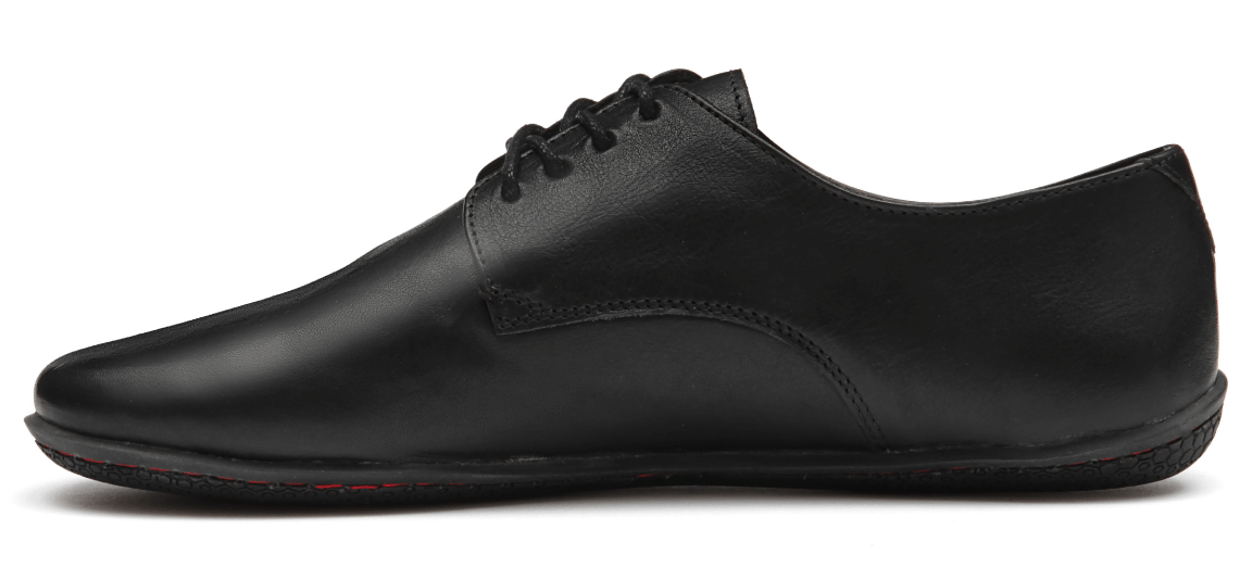 Vivobarefoot LISBON L Leather All Black ()