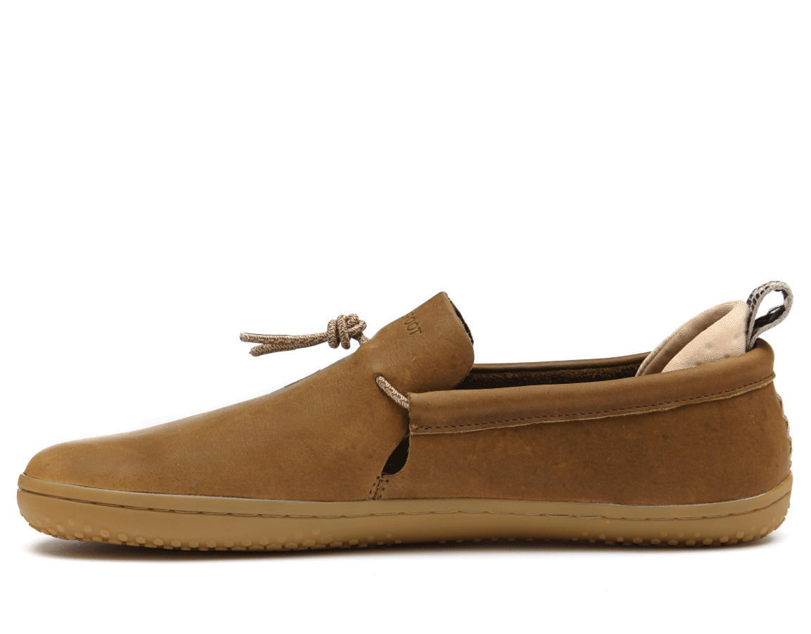 Vivobarefoot ELINA L Leather Chestnut/Hide ()
