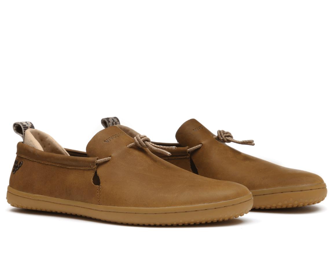 Vivobarefoot ELINA L Leather Chestnut/Hide ()