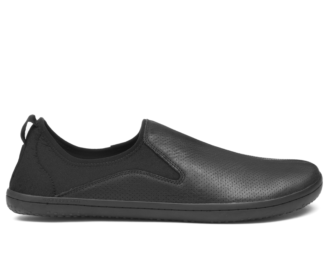 Vivobarefoot SLYDE M Leather Black