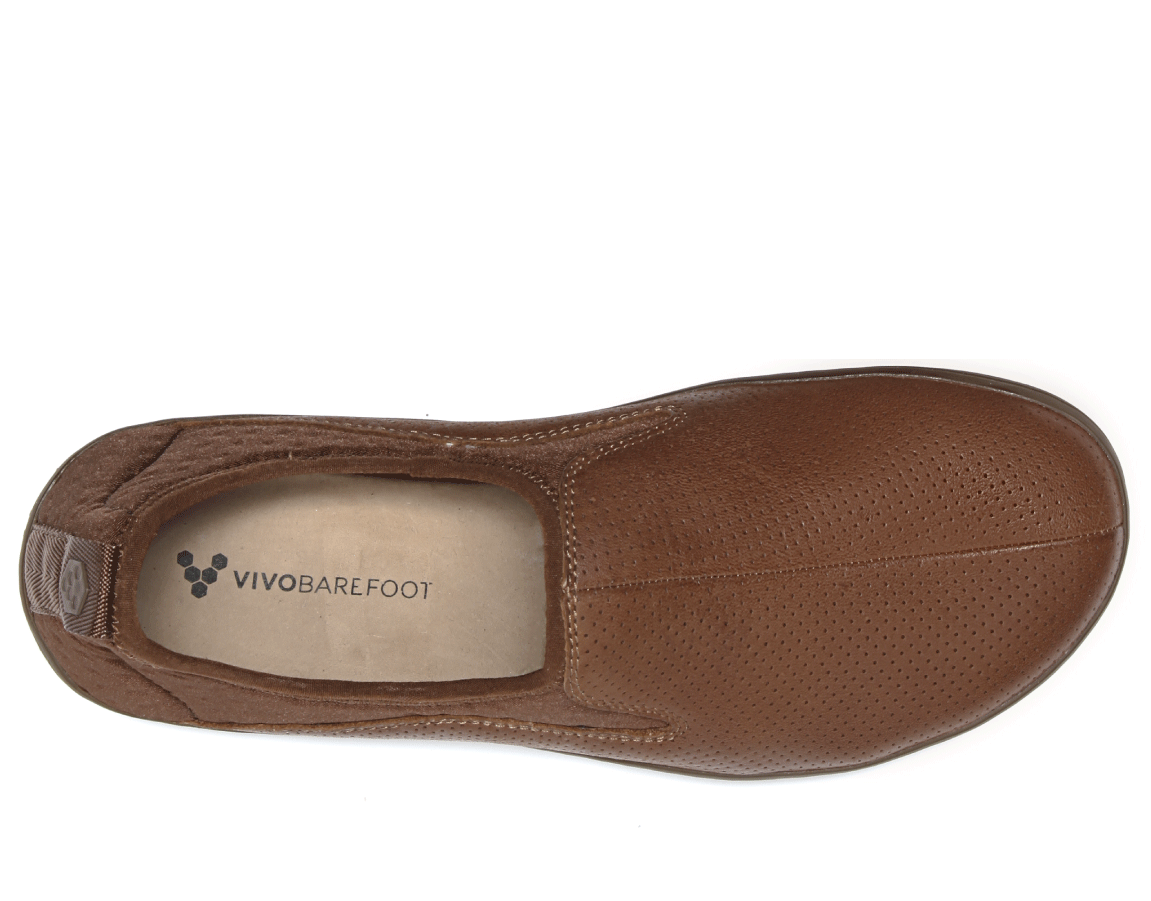 Vivobarefoot SLYDE L Leather Tobacco ()