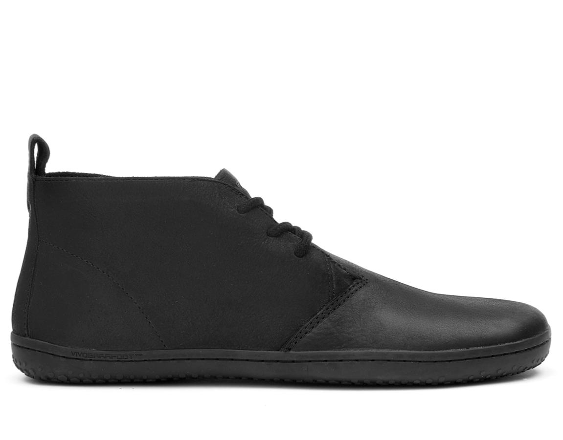 Dámské kotníkové boty - Vivobarefoot GOBI II L Leather Black Hide 47a9d69b4ed