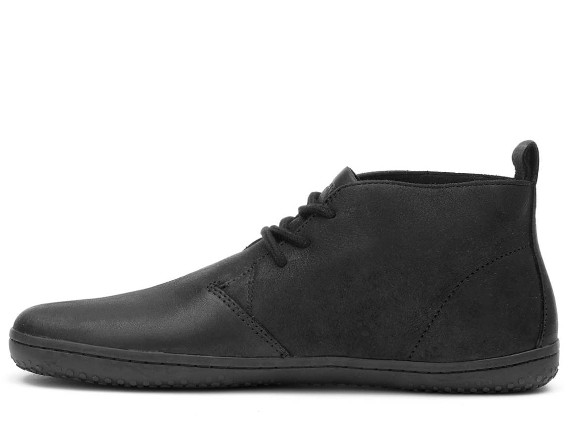 Vivobarefoot GOBI II L Leather Black/Hide ()