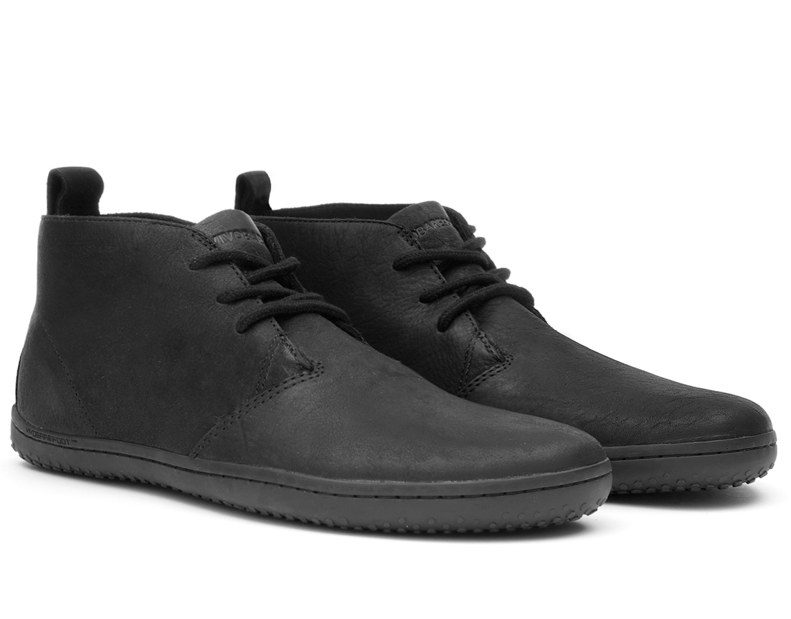 Vivobarefoot GOBI II M Leather Black/Hide ()