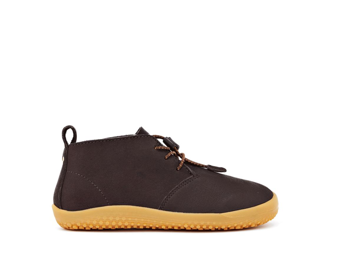 Vivobarefoot  GOBI K Leather Dk Brown