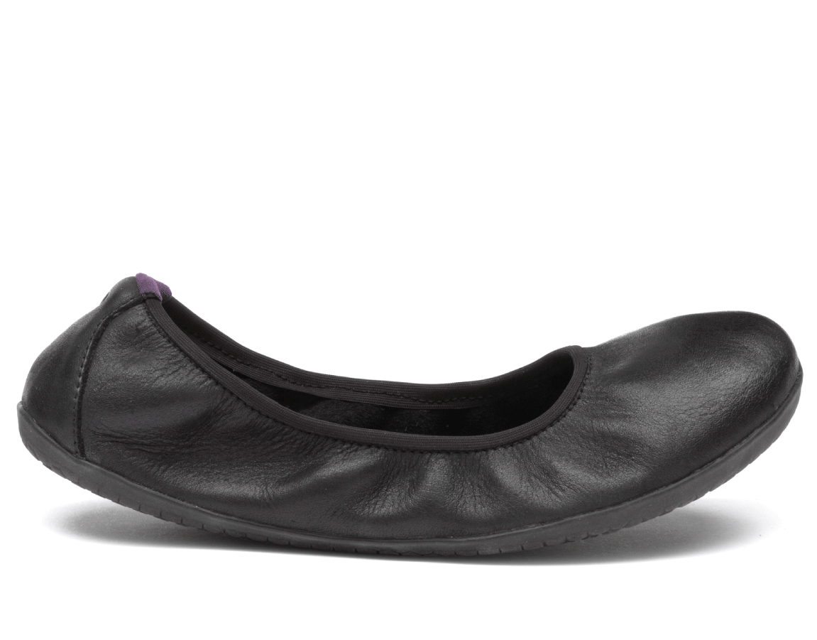 Vivobarefoot  JING JING 2 L Leather Black/Hide
