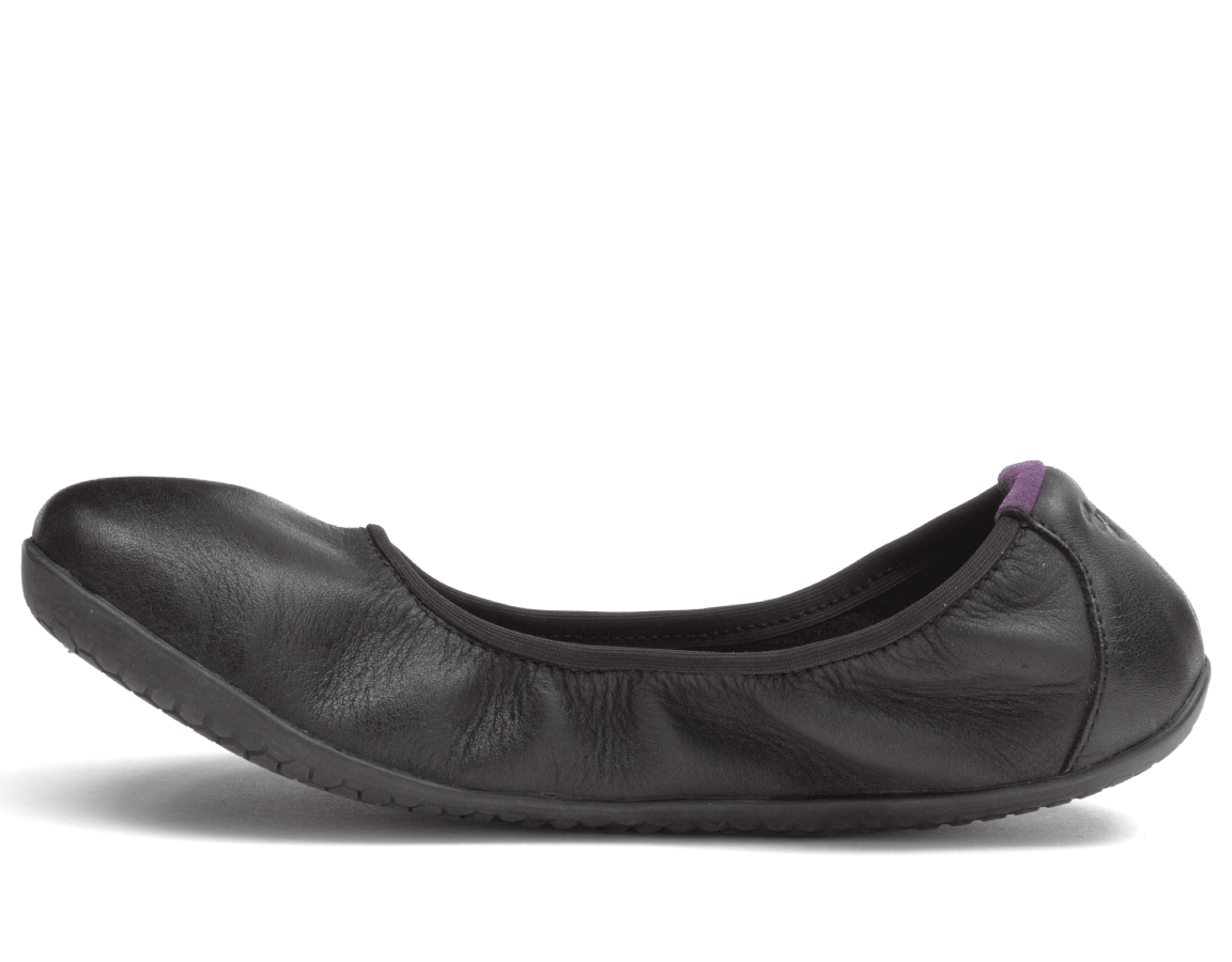 Vivobarefoot  JING JING 2 L Leather Black/Hide ()