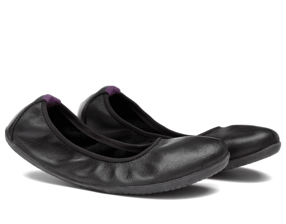 Vivobarefoot  JING JING 2 L Leather Black/Hide ()