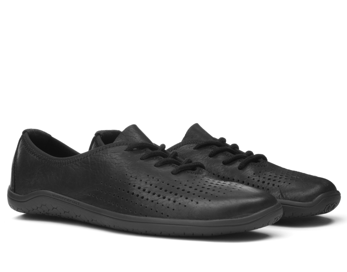 Vivobarefoot MIA L Leather Black ()