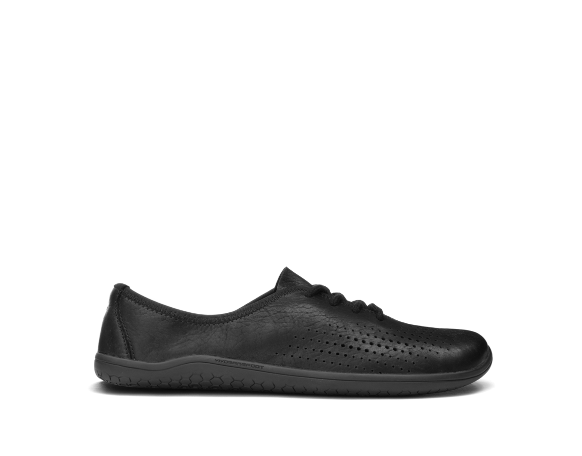Vivobarefoot MIA J Leather Black