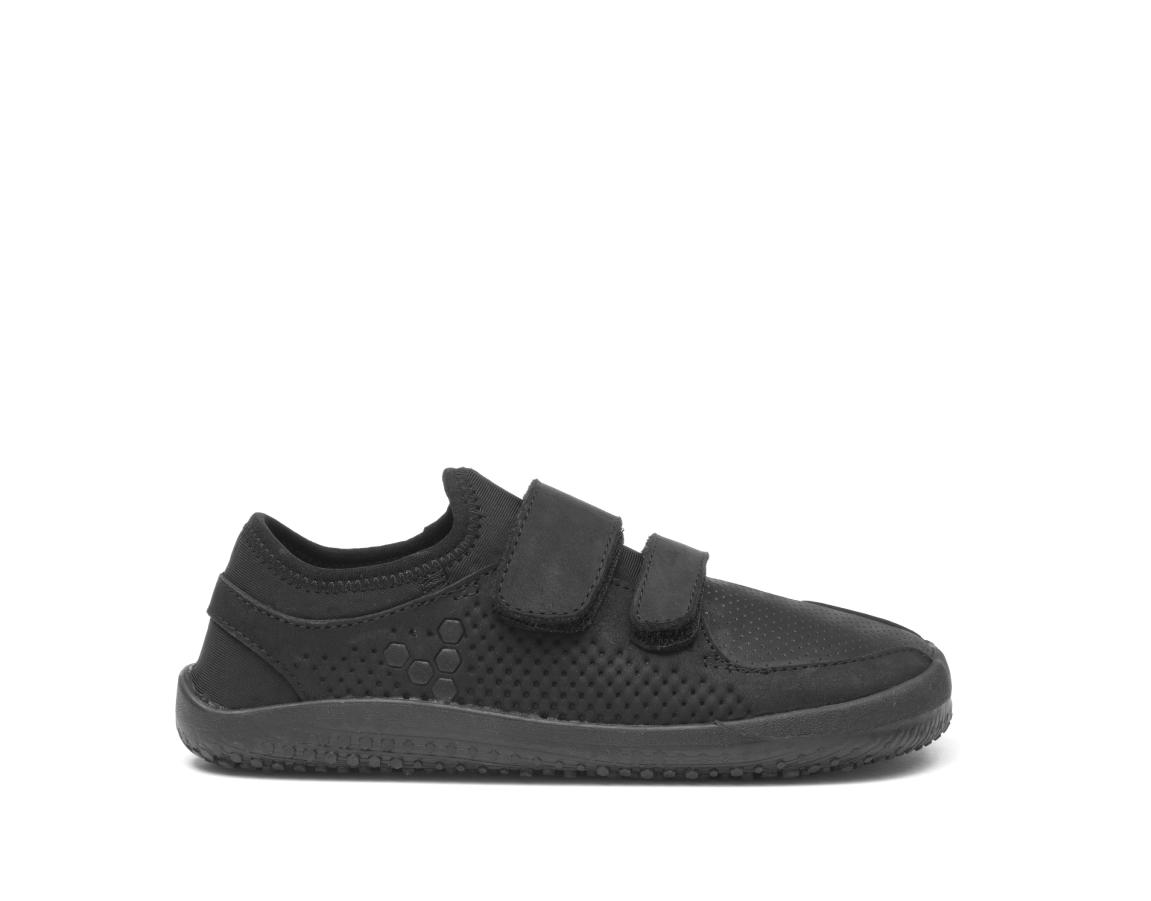Vivobarefoot  PRIMUS STRAP K Leather Black