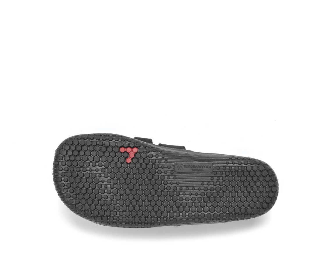 Vivobarefoot  PRIMUS STRAP K Leather Black ()