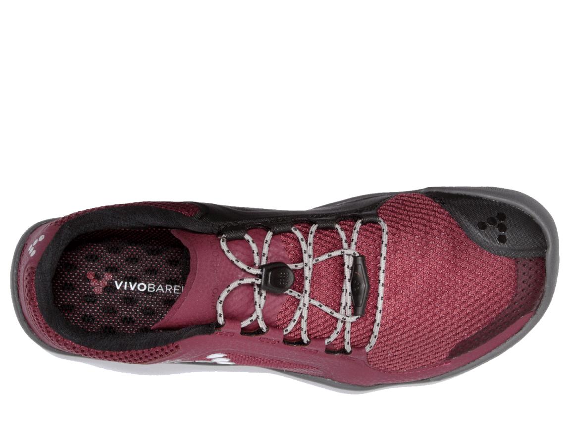 Boty na běhání v terénu - dámské - Vivobarefoot PRIMUS TRAIL FG L Mesh  Cordovan 54194ecd24