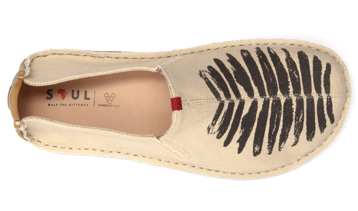 Vivobarefoot ABABA M Canvas Birdie Natural ()