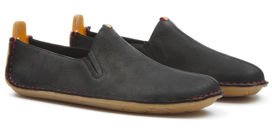 Vivobarefoot ABABA M Leather Black ()