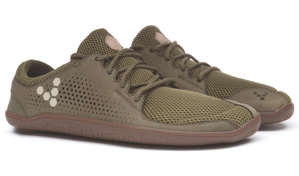 Vivobarefoot PRIMUS TRIO L Leather Olive ()