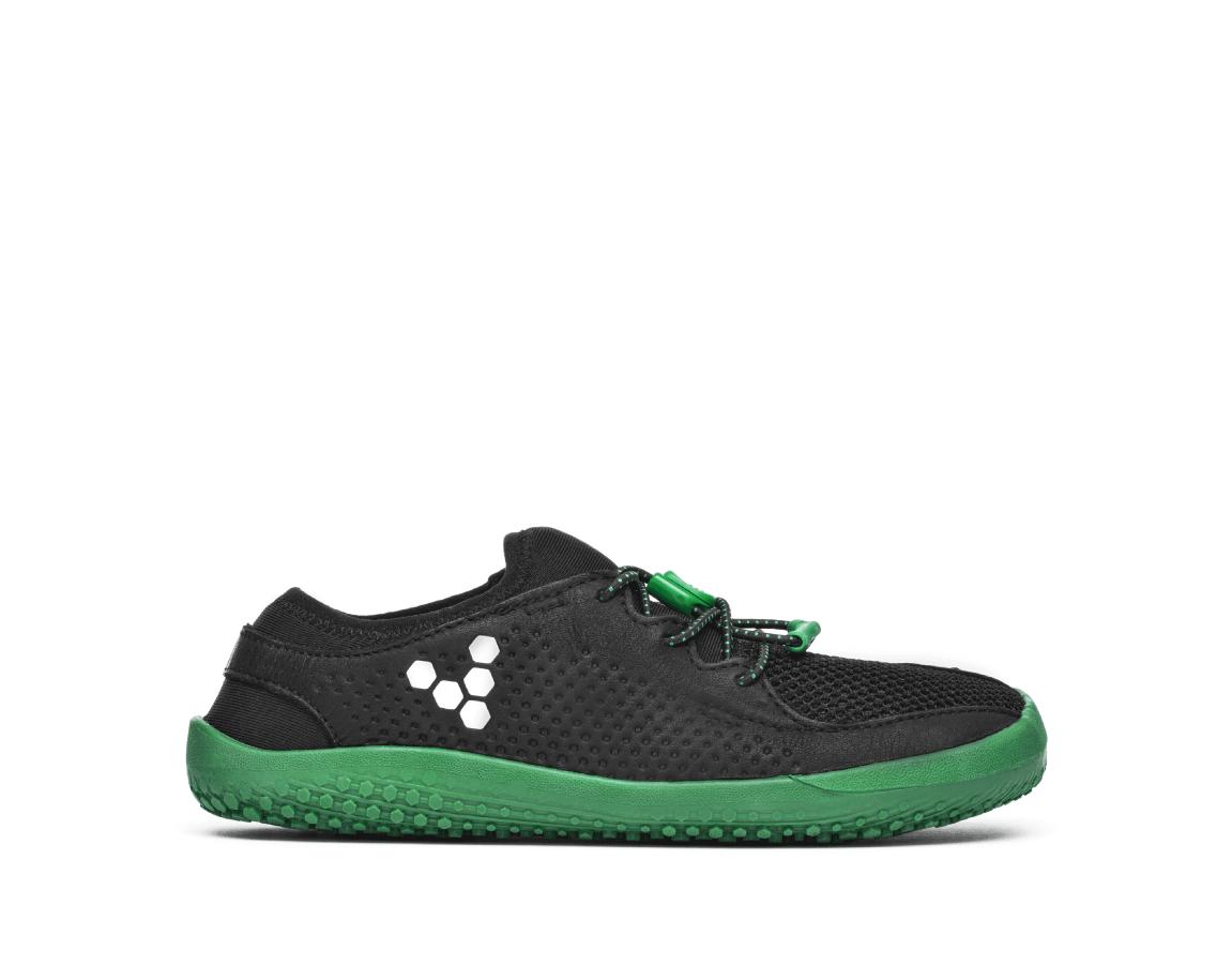 Vivobarefoot PRIMUS K Mesh Black/Green ()