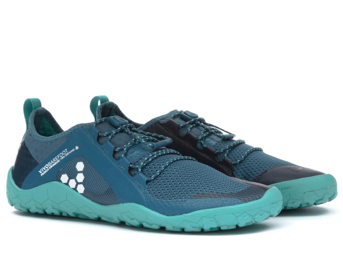 Dámské běžecké boty do terénu - Vivobarefoot PRIMUS SWIMRUN FG L Mesh Ink  Blue ee36dacba2