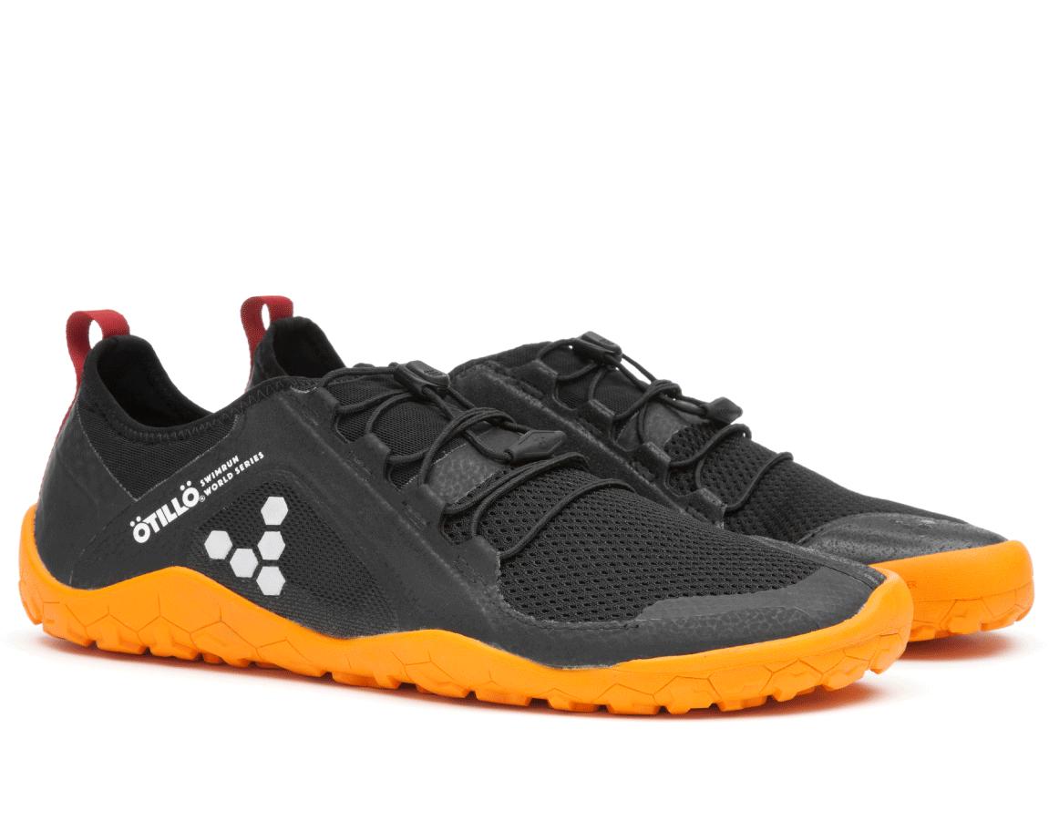 Běžecké boty do terénu - dámské - Vivobarefoot PRIMUS SWIMRUN FG L Mesh  Black Orange 417b3896b4