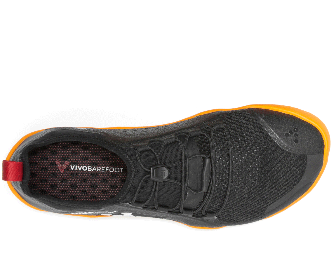 Vivobarefoot PRIMUS SWIMRUN FG M Mesh Black/Orange ()