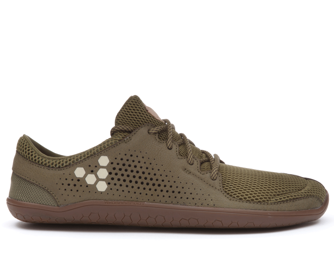 Vivobarefoot PRIMUS TRIO M Leather Olive