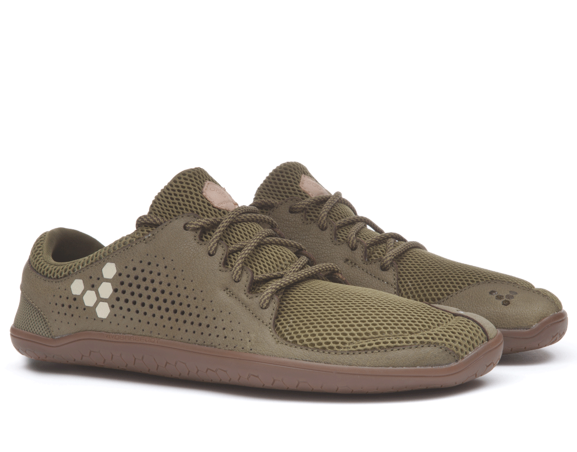 Vivobarefoot PRIMUS TRIO M Leather Olive ()