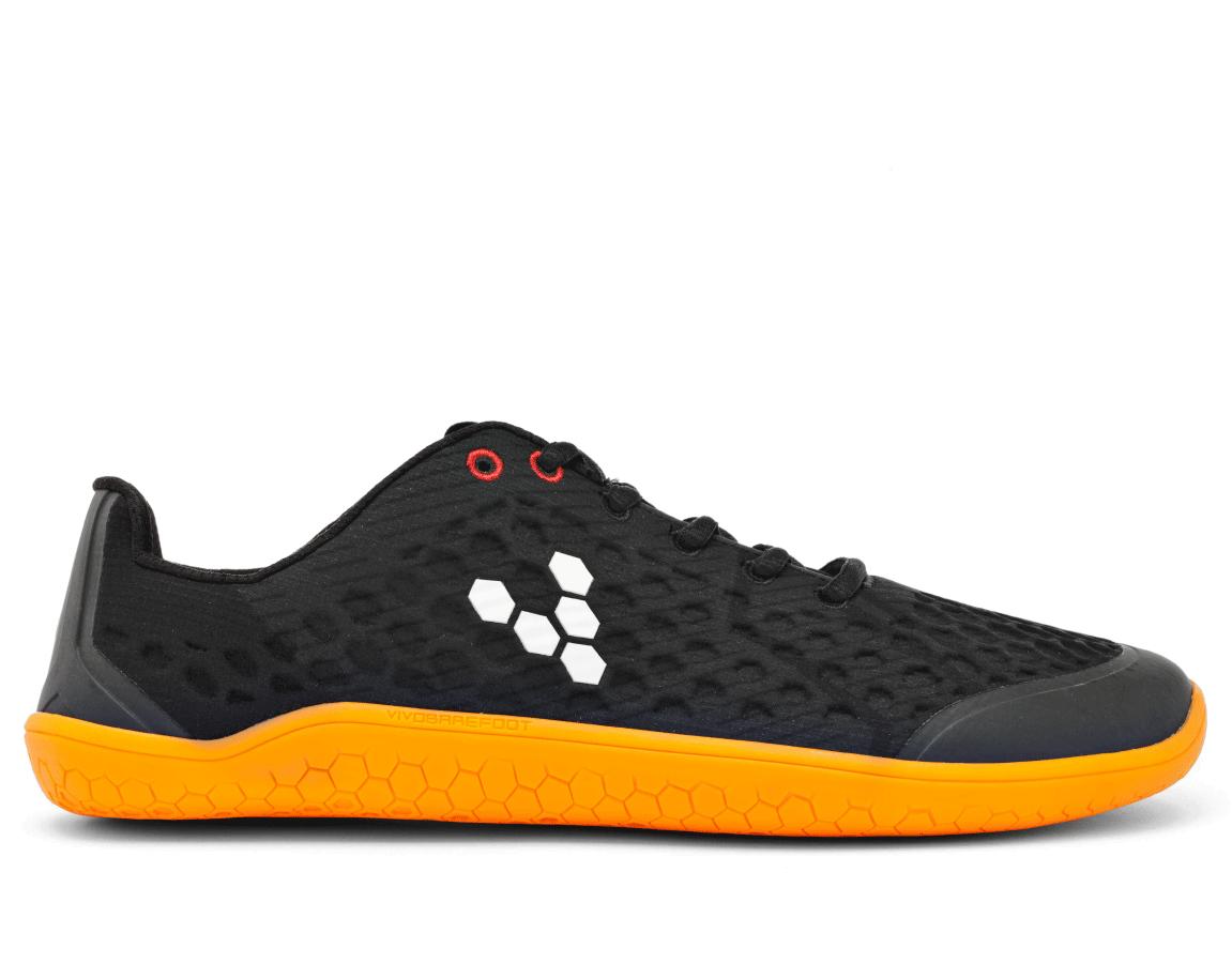 Vivobarefoot STEALTH 2 L BR Black/Orange