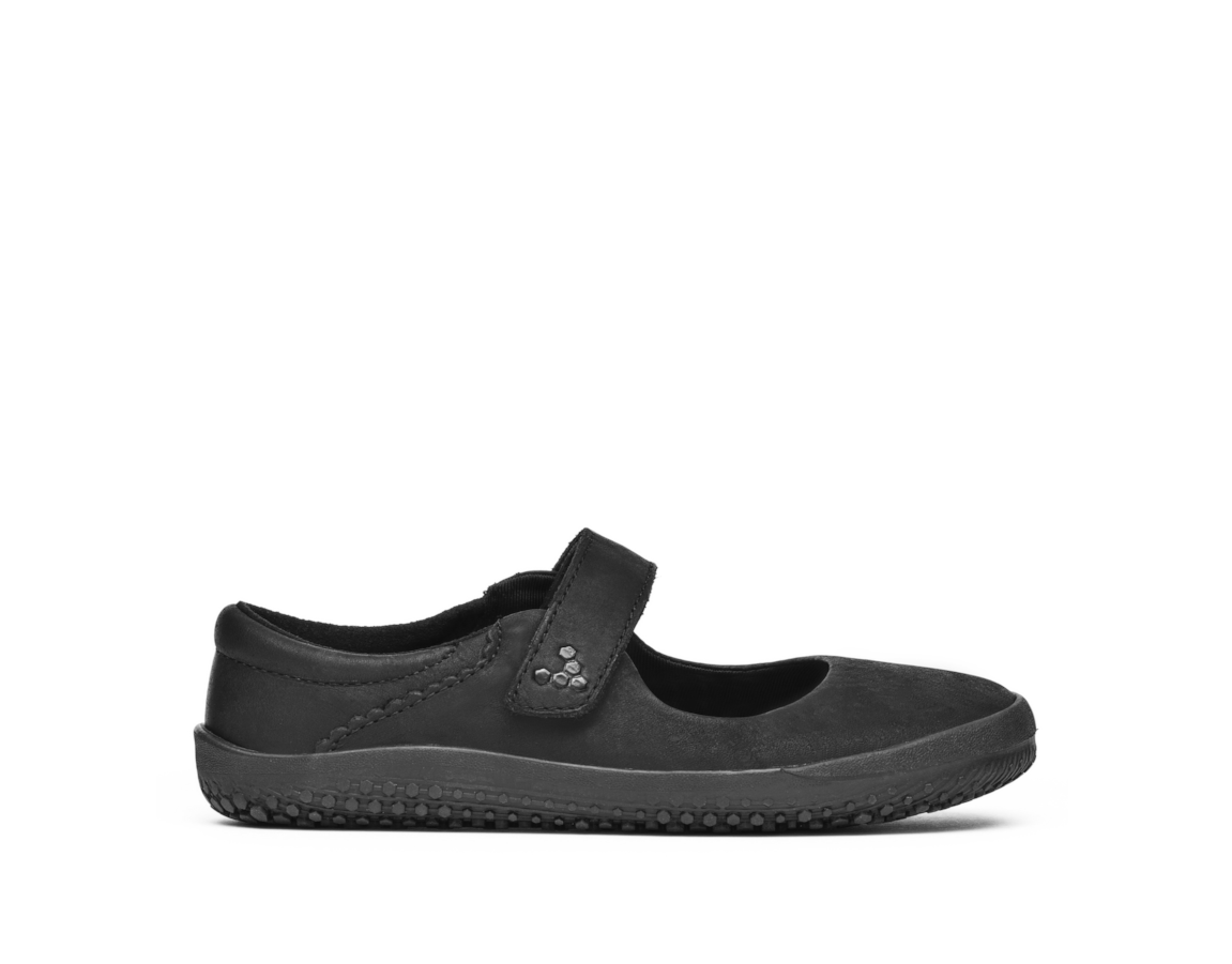 Vivobarefoot WYN K Leather Black/Hide