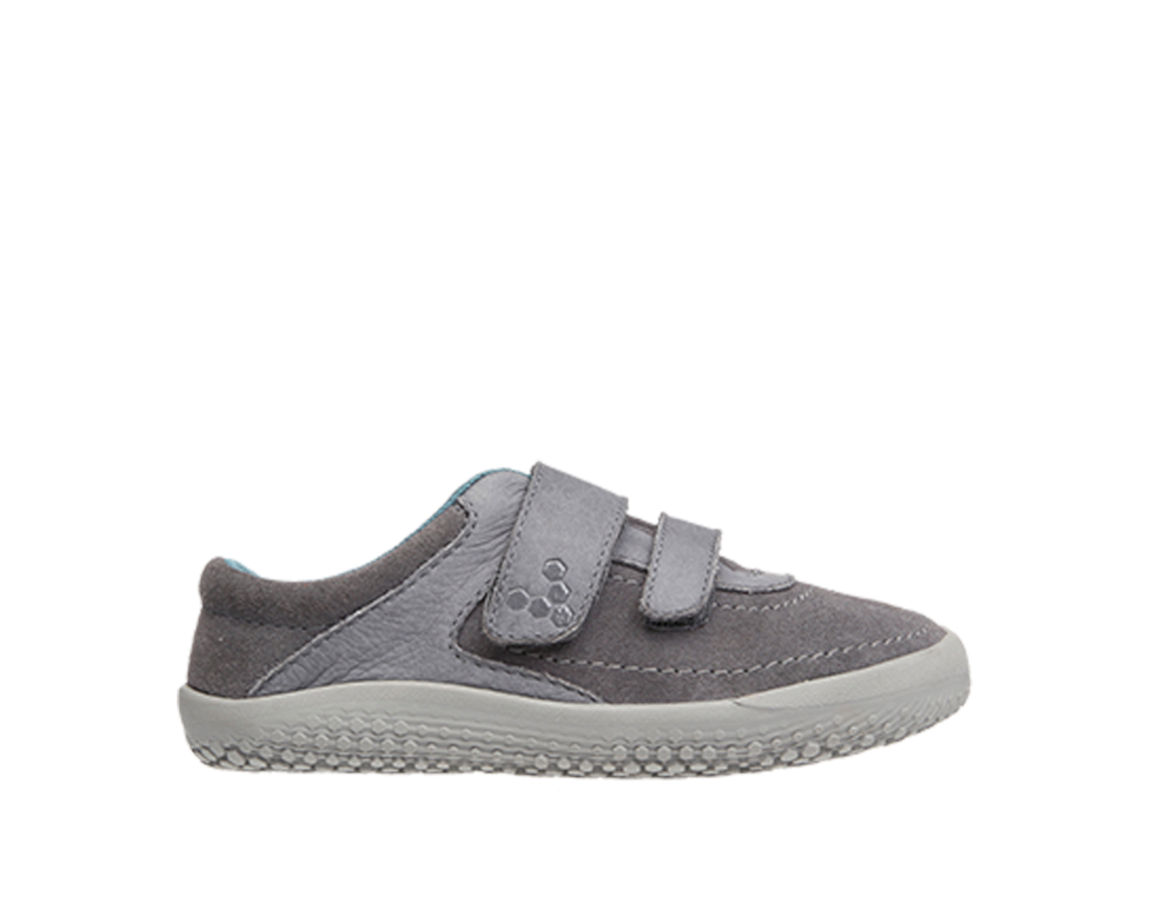 Vivobarefoot  RENO K Leather Grey ()