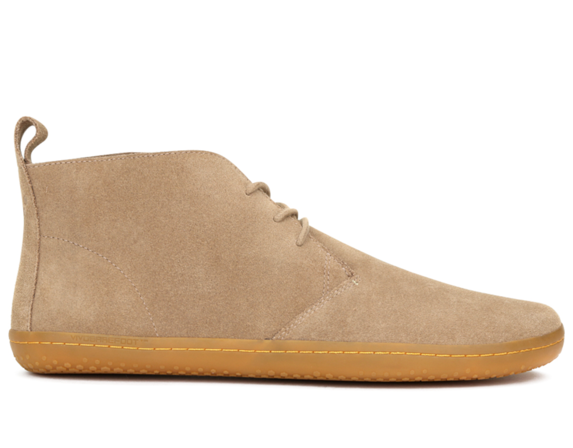 e10089d79c9f Pánské kožené kotníkové boty - Vivobarefoot GOBI II M Lt Brown