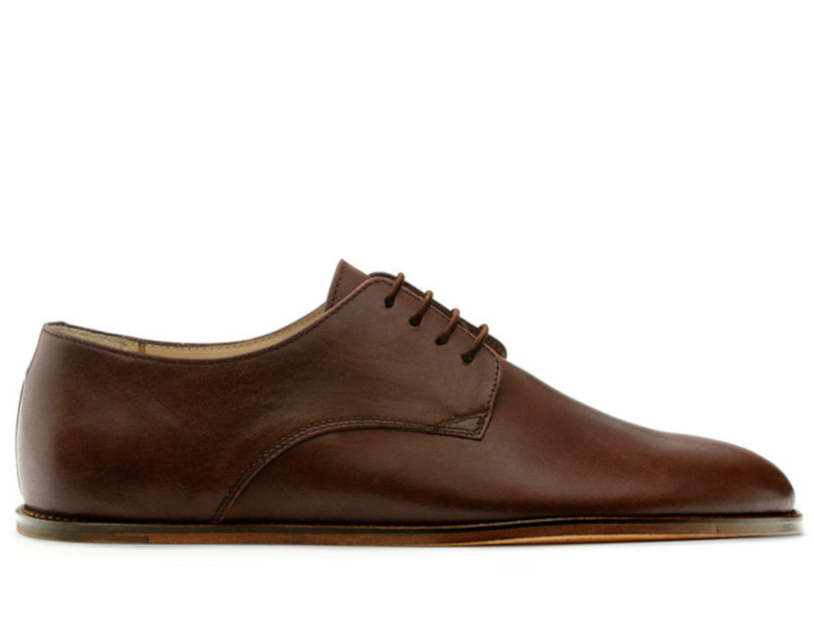 f546423e314 Ručně šitá obuv - Vivobarefoot LISBON M DK Brown