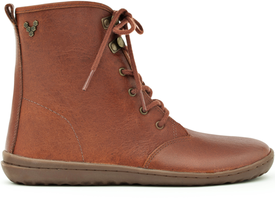 Vivobarefoot GOBI HI TOP L Leather Tobacco ()
